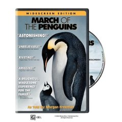Film narration voice over march of the penguins cover