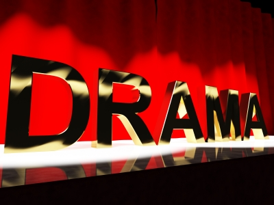 the word drama for Voice Acting