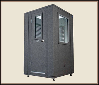 Voice Over Vocal Booth Plans for Home Recording Studio with