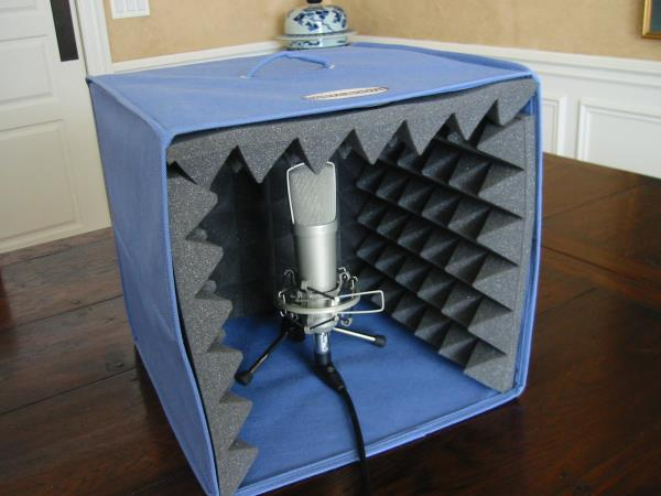 Voice Over Vocal Booth Plans for Home Recording Studio with Acoustic