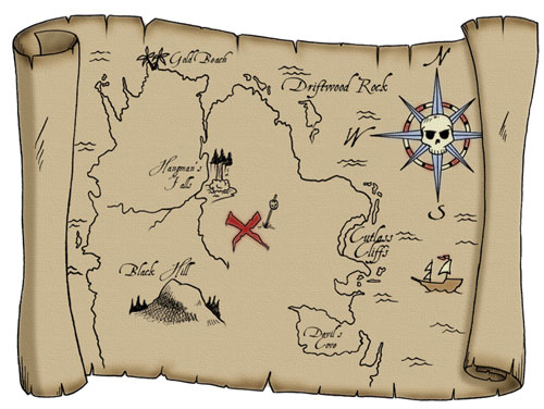 treasure map to find voice over jobs and work