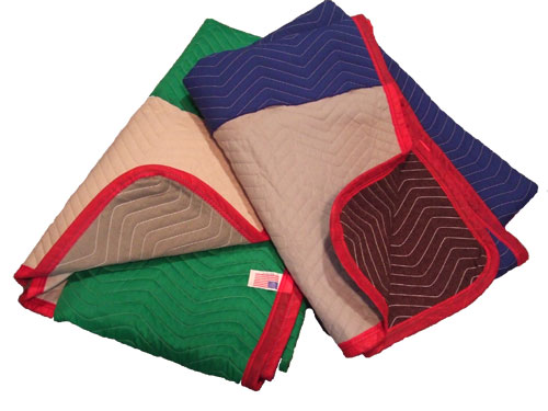 Multicolor Moving Blankets