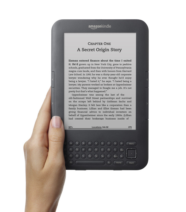 Use the Amazon Kindle or a tablet to read copy for auditions and jobs